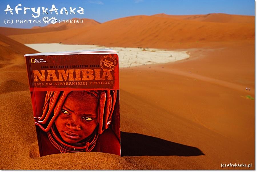 Nasza pierwsza książka o Namibii...