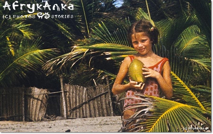Anka, lat 7, w Nigerii. Dla dziecka z PRL - totalna egzotyka!