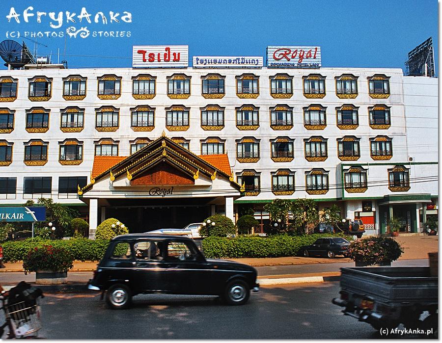 W Laosie są zarówno przytulne hoteliki jak i bardzo ekskluzywne hotele!