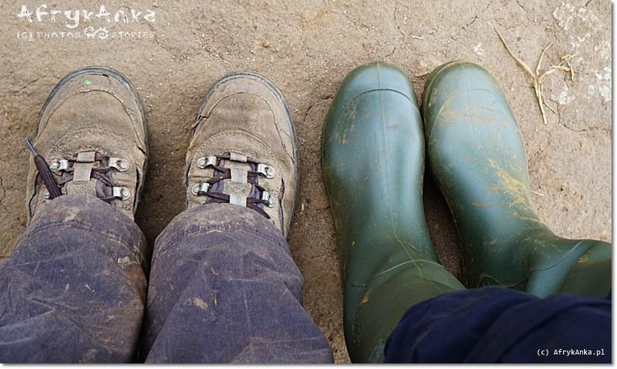 Kalosze - w takich butach przewodnicy dotrą wszędzie suchą stopą!