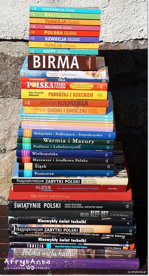 Nasze albumy i książki podróżnicze.
