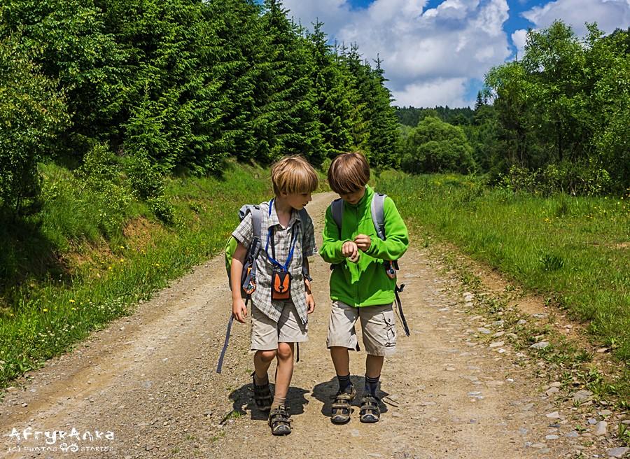 Górskie wędrówki to część naszej młodości, chcieliśmy pokazać chłopakom, jakie to jest fajne.