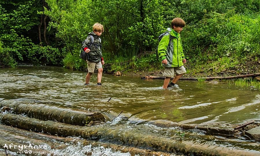 Pokonujemy potoki...