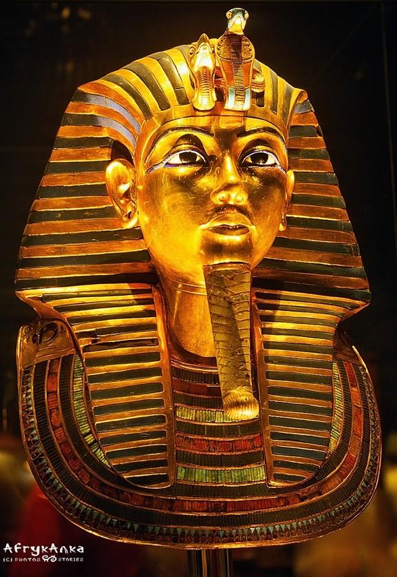 Złota maska Tutanchamona jest najsłynniejszym jego wizerunkiem na świecie.