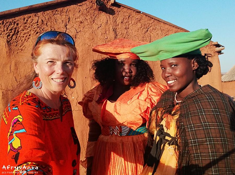 Z damami Herero.