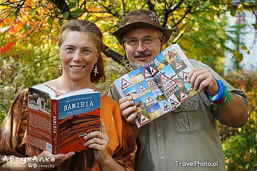 Namibia - Ten moment, gdy pierwszy raz bierzesz książkę w dłoń - bezcenny!