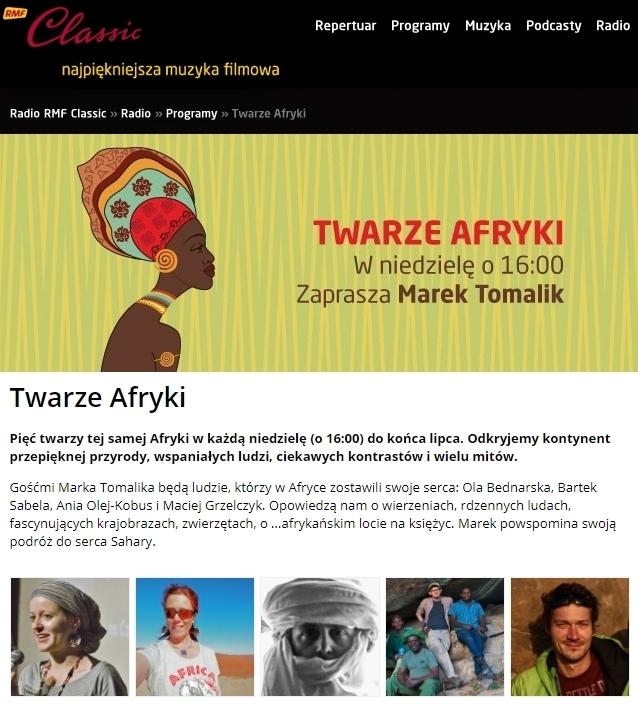 """Twarze Afryki"""" czyli pięć różnych opowieści o Afryce."""