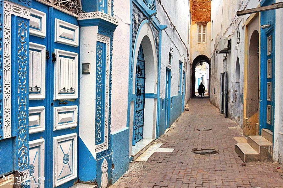 Uliczka w Kairouan.