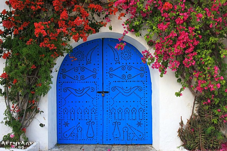 Wejście w Sidi Bou Said.