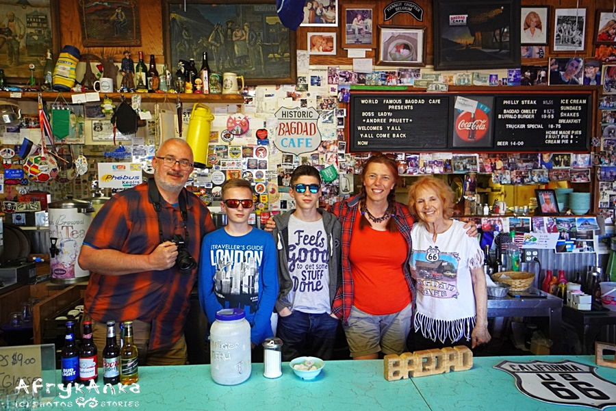 Nasza rodzina i Adrea - wspaniałą marzycielką z Route 66!