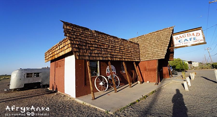 """""""Bagdad Cafe"""" na Route 66 wygląda dokładnie tak samo jak na filmie."""