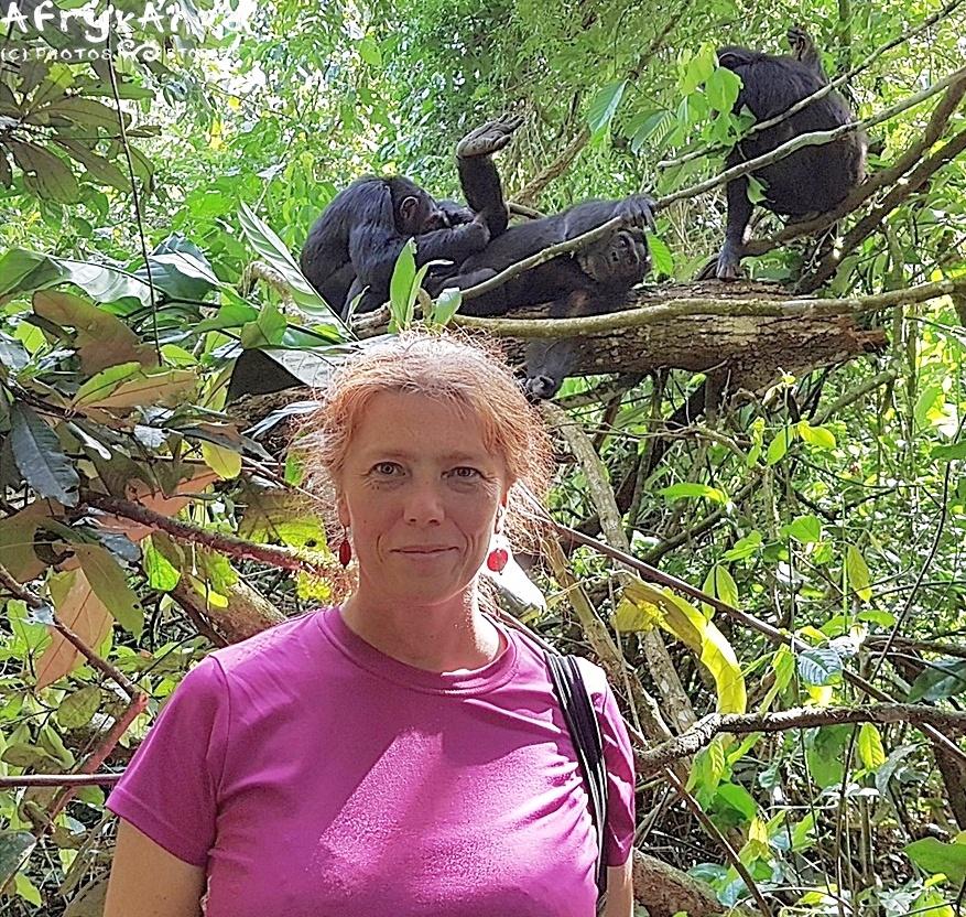 Uganda: goryle we mgle, turyści w błocie, a szympansy na drzewach 😀