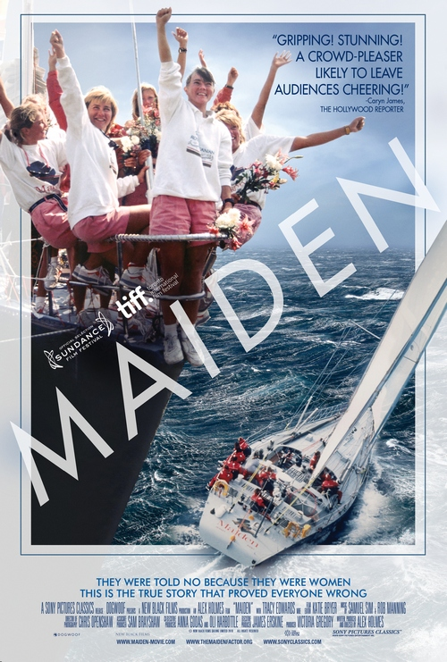 Maiden - plakat filmu.
