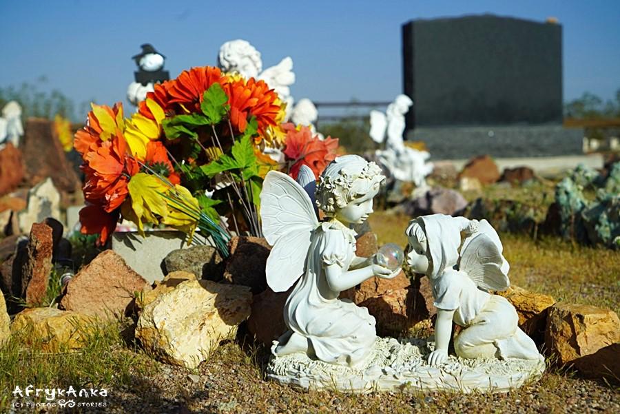 Cmentarze Route 66 zaskakują nagrobkami.