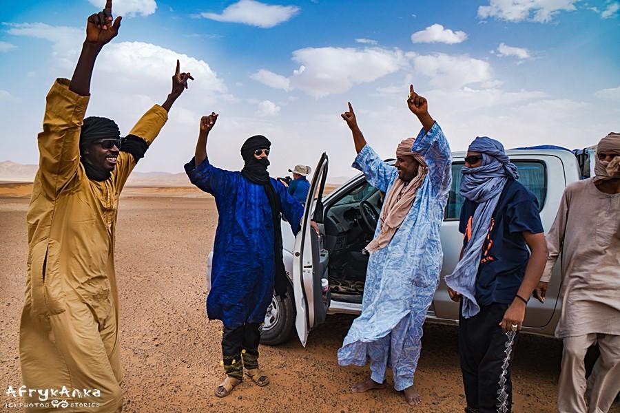 Podróż z Tuaregami była dla mnie piękną lekcją radości życia.