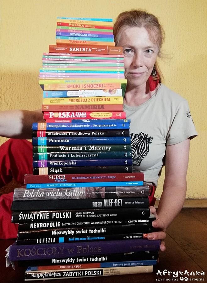 Ja i moje książki - trochę się ich zebrało :)