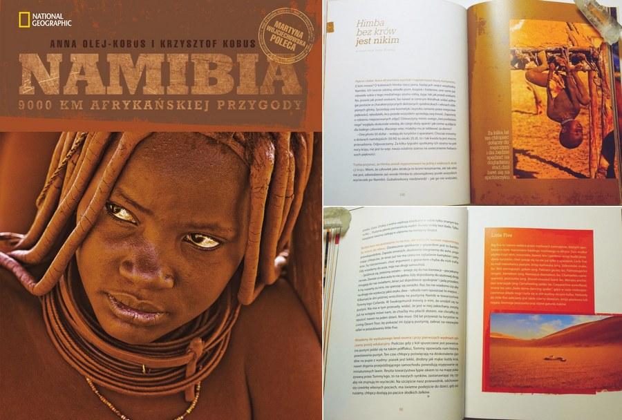 Nasza pierwsza książka o Namibii.