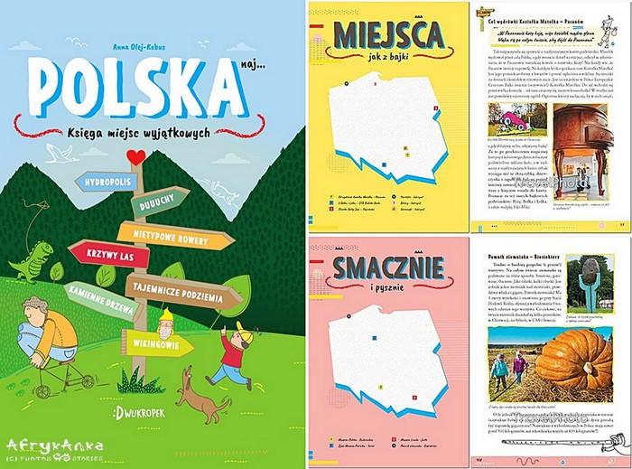 Ta książka pokazuje dzieciakom jak NIESAMOWITE miejsca są w Polsce!