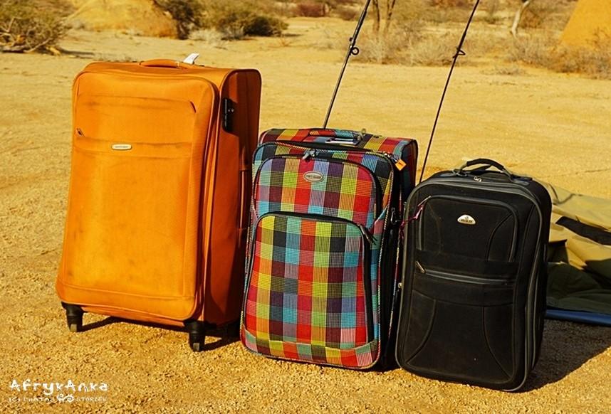 Im większa walizka - tym trudniej w niej coś znaleźć, gdy masz za dużo rzeczy.