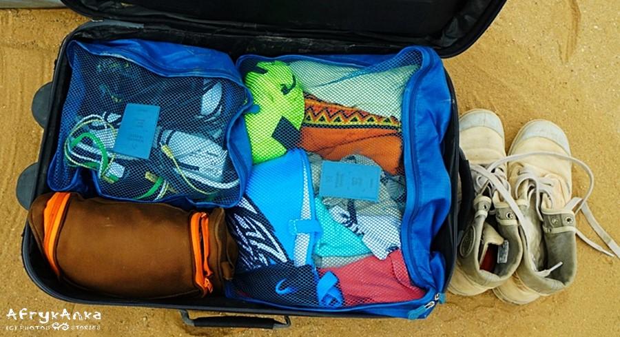 Mój bagaż podręczny - praktycznie jest tu wszystko.