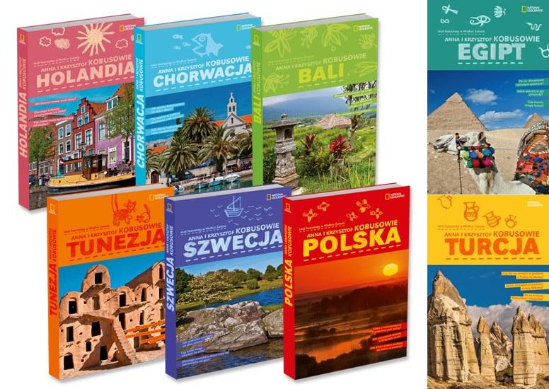 Kieszonkowe książki opisujące nasze podróże.