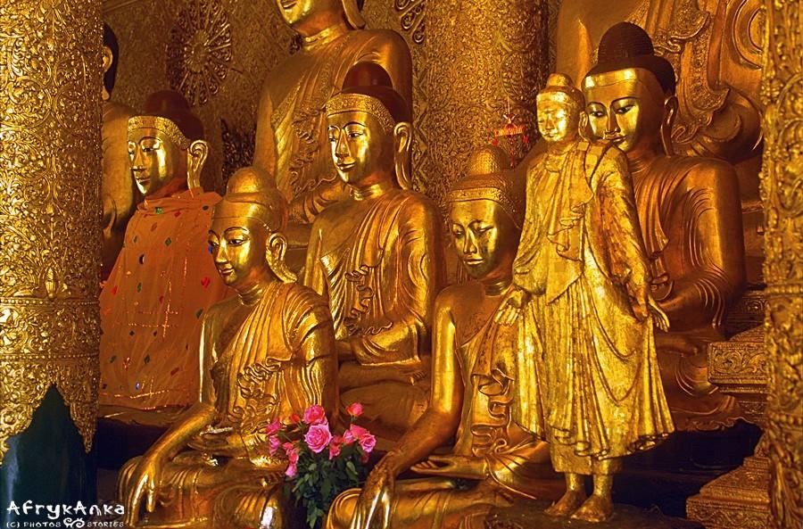 Shwedagon - duchowe serce Birmy.
