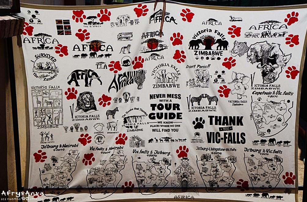 T-shirt z Victoria Falls - pełna gama wzorów!