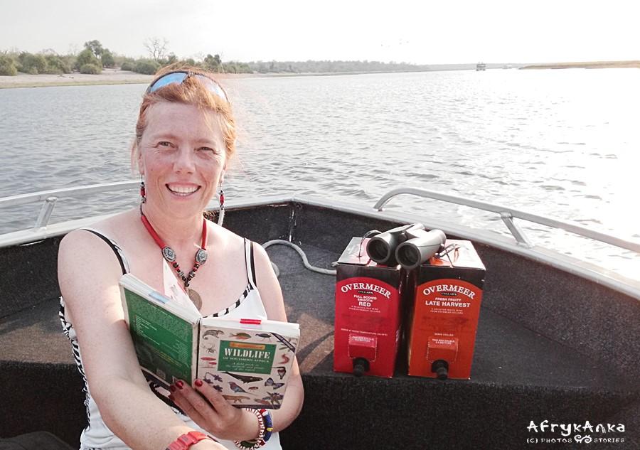 Wypływamy dobrze przygotowani do wodnego safari!