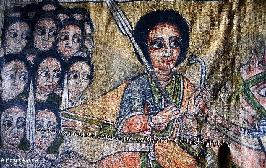 Etiopski św. Jerzy.