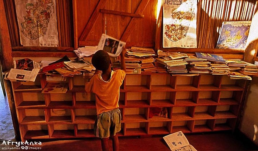 Szkoła Bananowa - biblioteka.