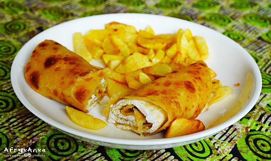 Rolex - moje ulubione jedzenie w Ugandzie!