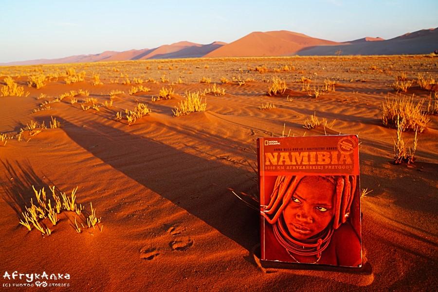 Pierwsza książka o Namibii.