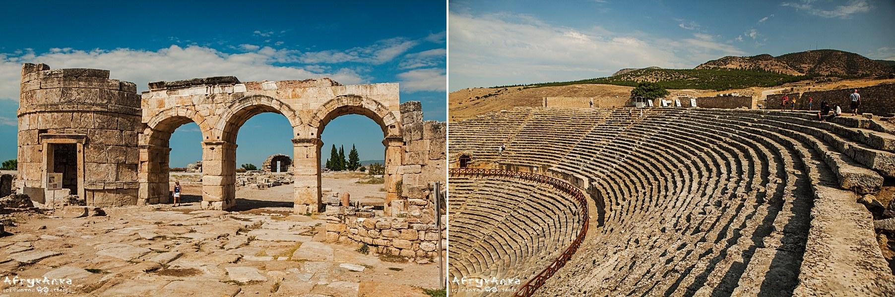 Hierapolis jest pełne zabytków.