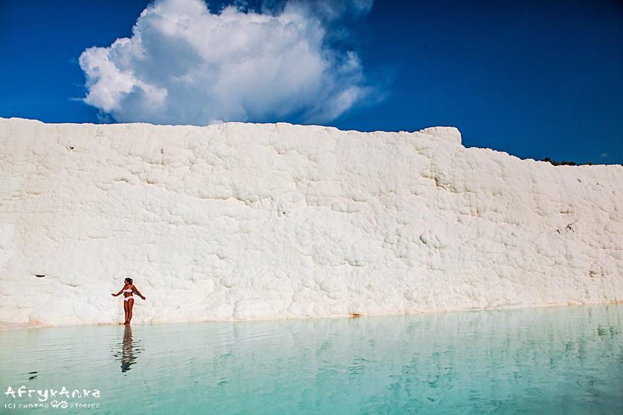 Choć baseny sztuczne - krajobraz piękny!