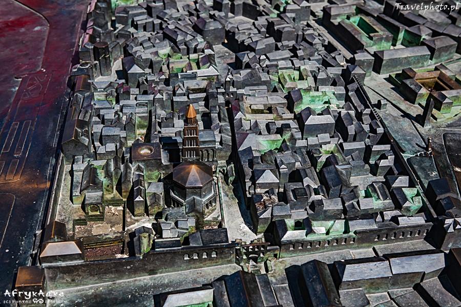 Split - współczesna makieta miasta.