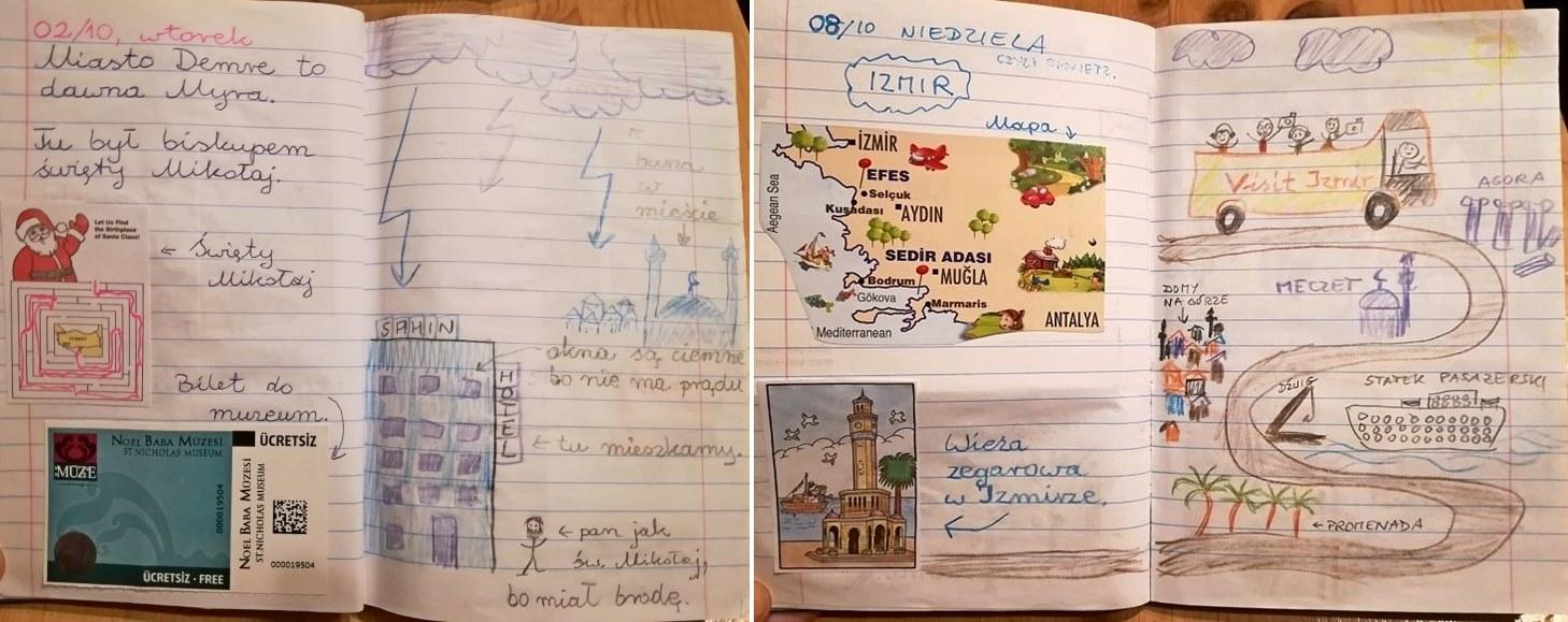 Prototyp - pamiętnik z Turcji.