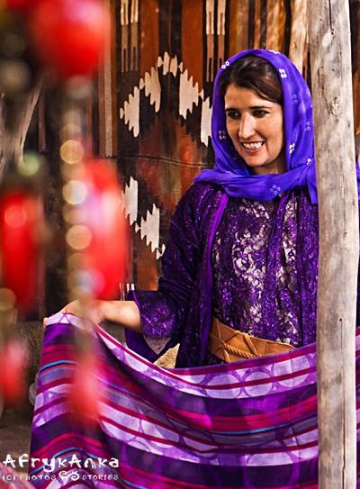 W Harran warto kupić tradycyjne tkaniny.