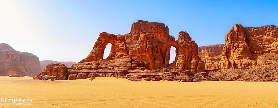 Pustynia w Algierii - tu tłumów nigdy nie było.