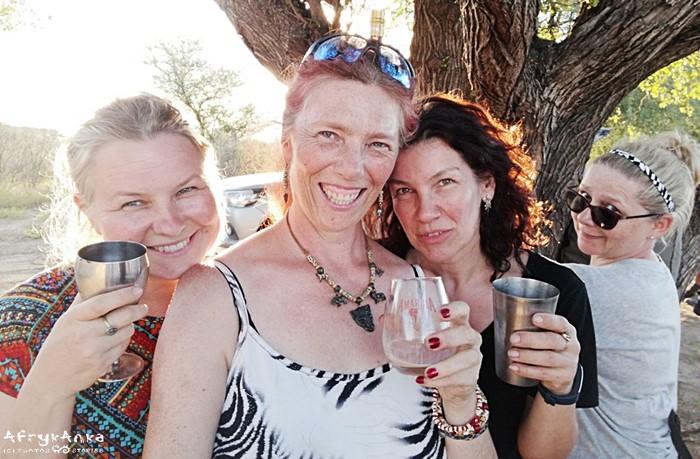 Party w Botswanie - w czasach przed COVID-19.