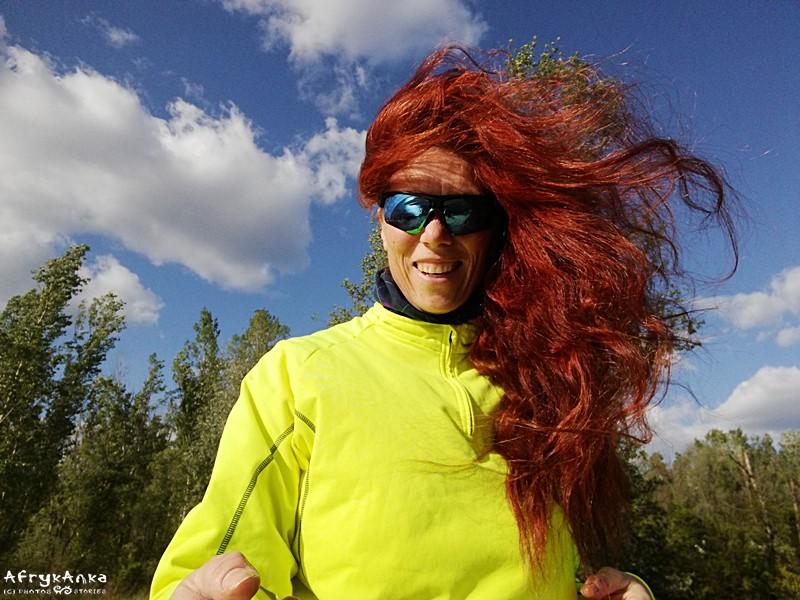 Wiatr we włosach :D
