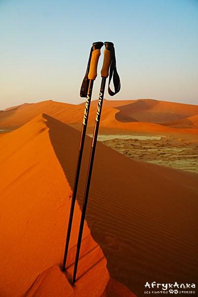 Fizan Compact - na pustyni przydaje się wsparcie.