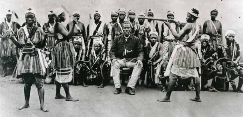 Zdjęcie wojowniczek z ok. 1890 r.