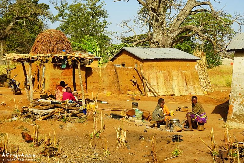 Jedne chaty buduje się wciąż zgodnie z tradycją.