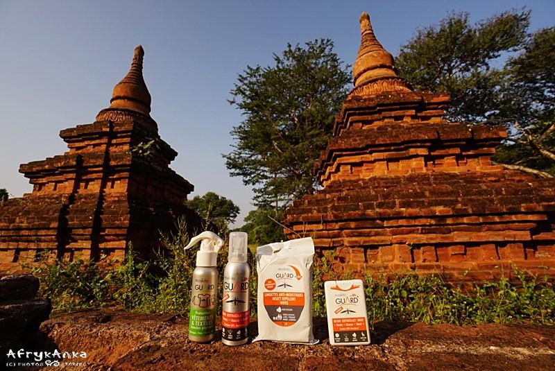Birma - zestaw ochronny w komplecie.