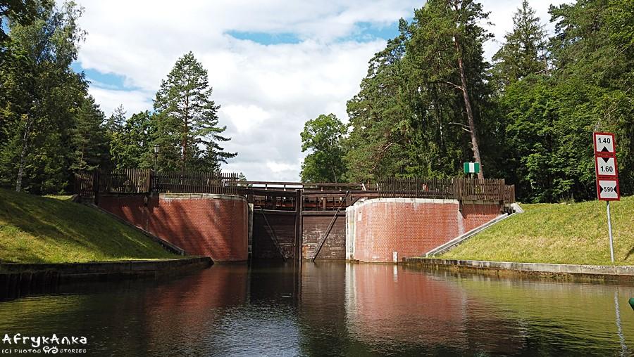 Śluzy na Kanale Augustowskim to zabytek techniki.