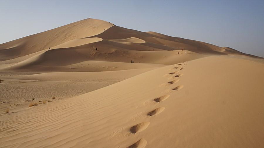 Sahara - piasek jest zdradliwy, bo nigdy nie wiadomo, kto się w nim kryje...