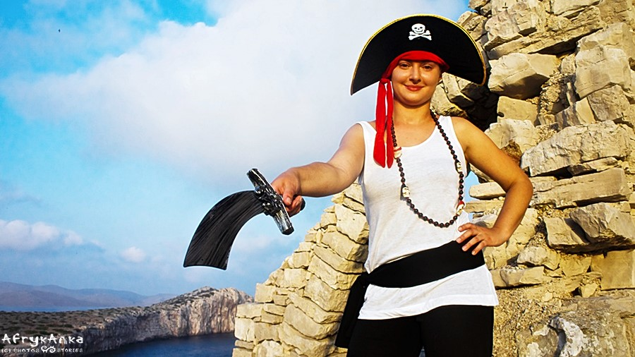 Piratka Agnieszka tu rządzi!