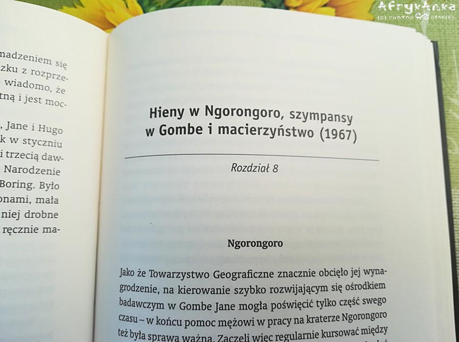 Książka ma czytelny podział rozdziałów.