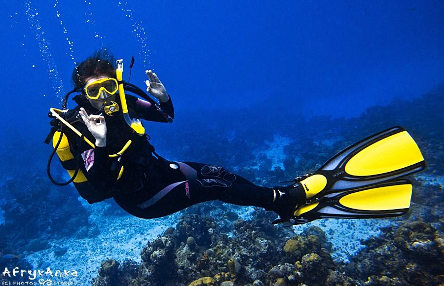 Pod wodą - nurkowanie na Kubie.