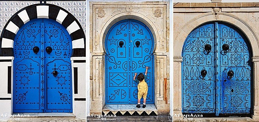 Drzwi do błękitu.